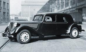 Citroen 1938 Traction 15 Six