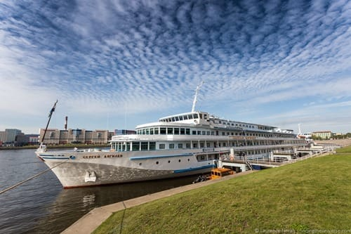 Russia river cruise MS Rachmaniov