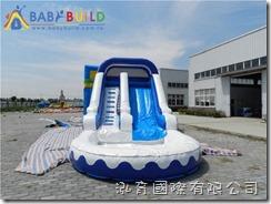 BabyBuild 充氣滑梯