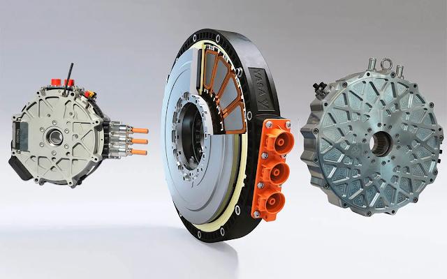 motor electrico flujo axial mercedes