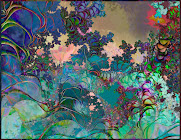 """The """"Psychedelic Garden"""" piece from the """"2013"""" collection"""
