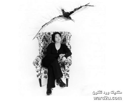 حديد خردة منحوتات النحاتة Sayaka Ganz