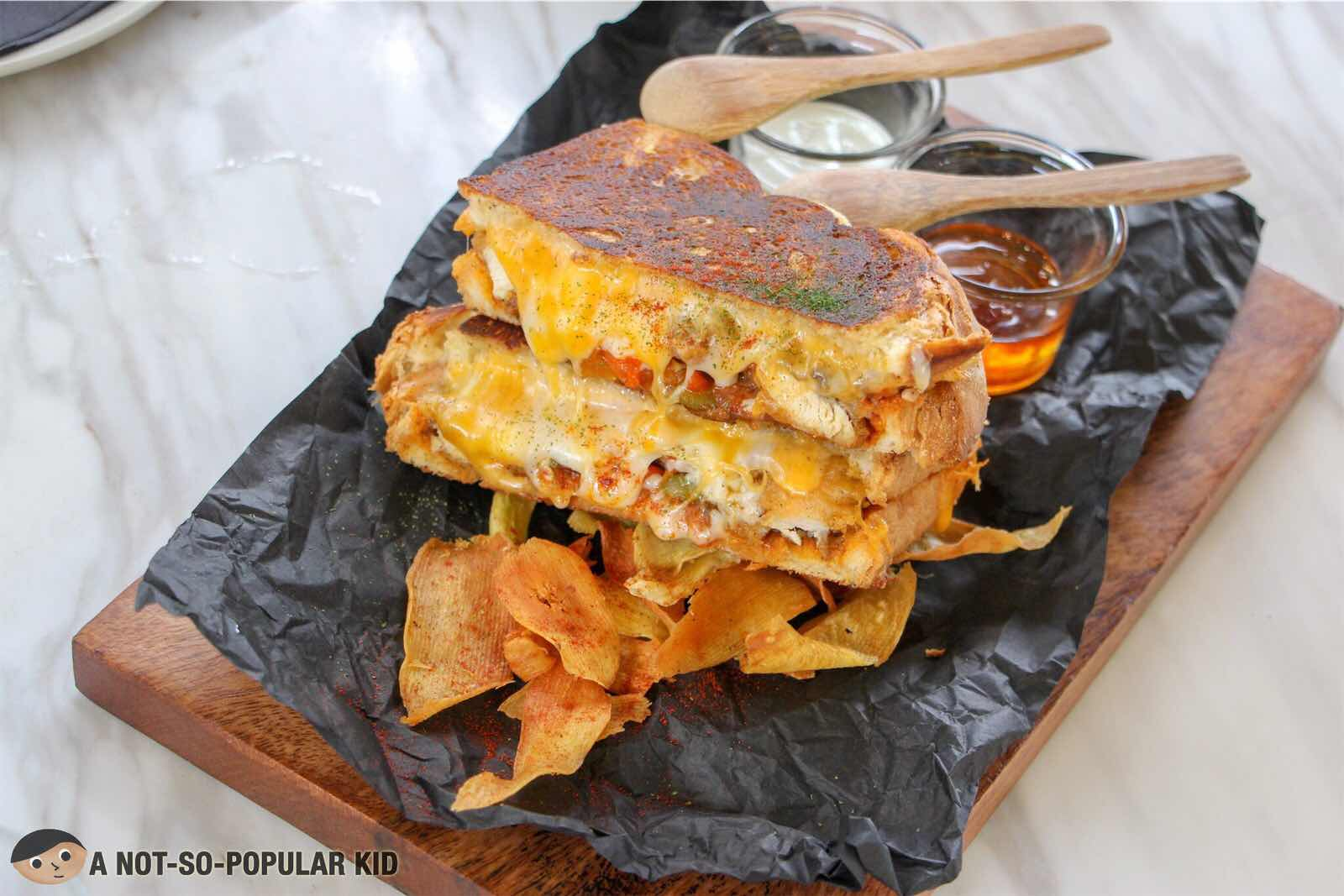 Big Buff of Melt Grilled Cheesery in Molito, Alabang