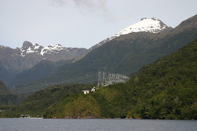 Manapouri power station at West Arm