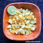 Crunchy Indian cucumber salad (Koshambir)