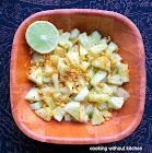 Crunchy Indian cucumber salad (Koshambir)