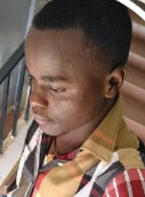 Malindi Prison warder Tairus Mwangi.