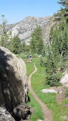 But there were some nice sections of the trail as well©http://backpackthesierra.com