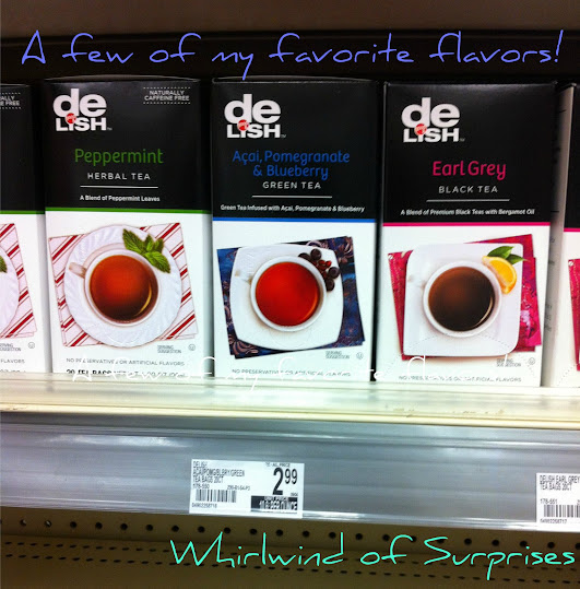 Green Tea, Earl Grey, peppermint tea at Duane Reade