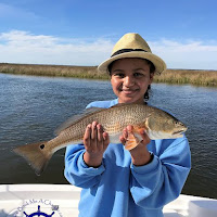 Jaden with a keeper Redfish 11-21-2018