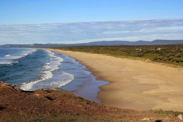deserted beach, Red Rock, Australia