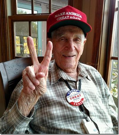 dad trump victory