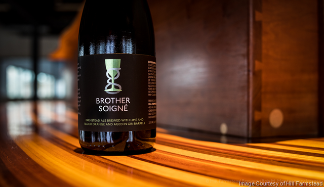 Hill Farmstead Releasing Gin Barrel-Aged Brother Soigné 2/21
