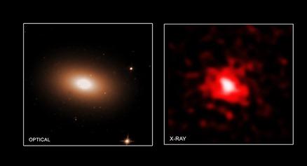 Mrk 1216 no visível e em raios X