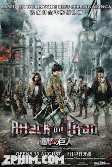 Đại Chiến Titan - Attack on Titan (2015) Poster