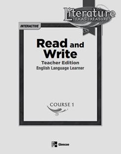 McGraw Hill Read and Write Course 1 Grade 6