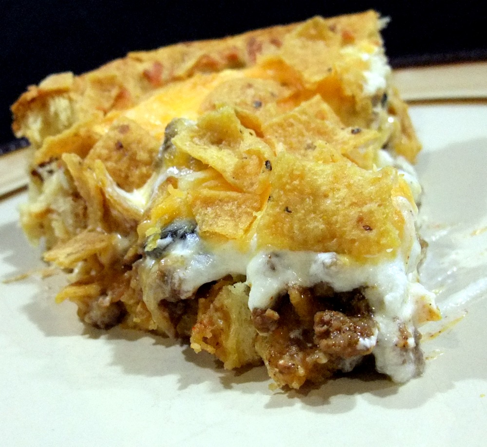 Aunt Peg's Recipe Box: Sensational Taco Pie