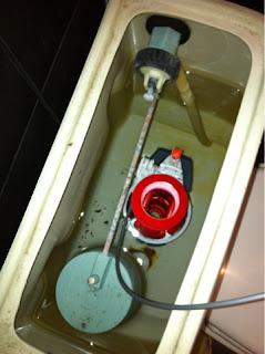 cambiar cisterna