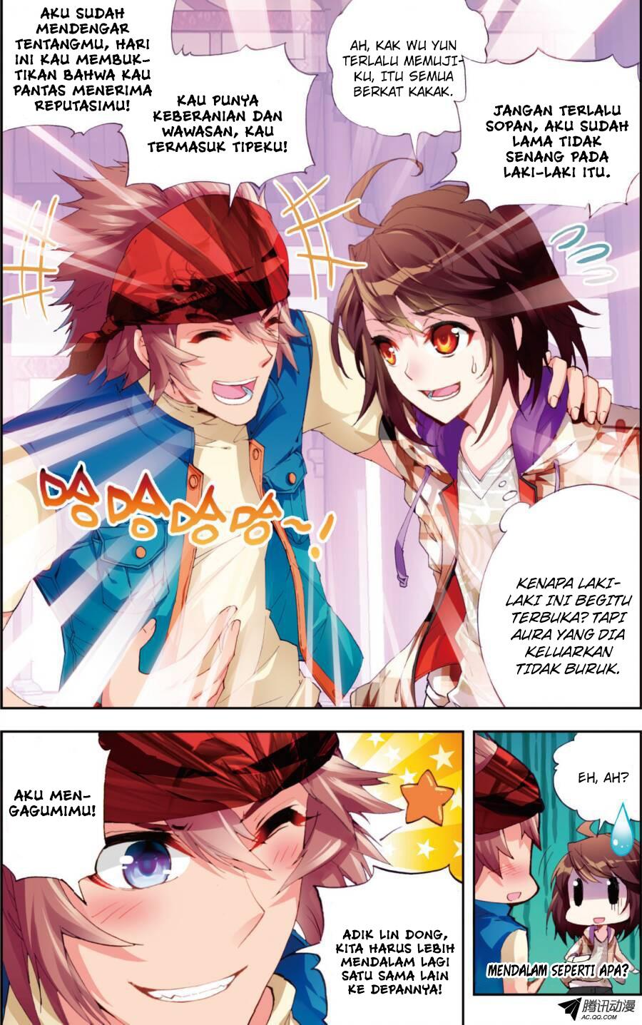 Baca Manga Wu Dong Qian Kun Chapter 15 Komik Station