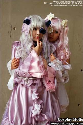 rozen maiden Träumend cosplay - barasuishou and kirakishou