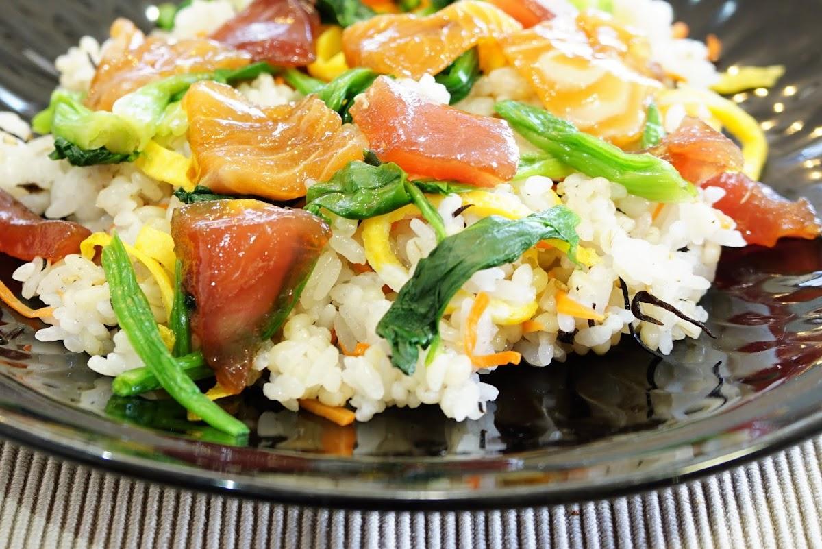 華やかバラ寿司(ノンストップで紹介)のレシピ クラシル