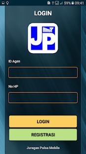 Juragan Pulsa Mobile - náhled