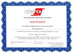 Сертификат ORAFOL по профессиональной оклейке автомобилей