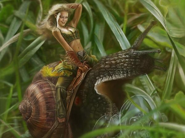 Riding On The Cochlea, Elven Girls 2