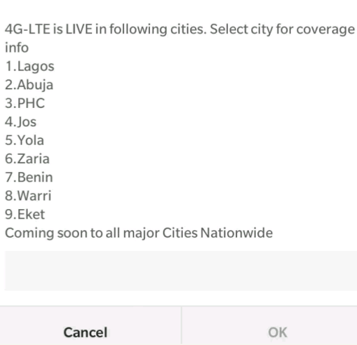 MTN and GLO Launch 4G Services In Selected Nigerian Cities 4