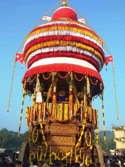Kukke Champa Shasti Rathotsava | ಕುಕ್ಕೆ ಸುಬ್ರಹ್ಮಣ್ಯದಲ್ಲಿ ಸಂಭ್ರಮ-ಸಡಗರದ ಚಂಪಾಷಷ್ಠಿ: ರಥೋತ್ಸವಕ್ಕೆ ಸಾಕ್ಷಿಯಾದ ಭಕ್ತಸಾಗರ
