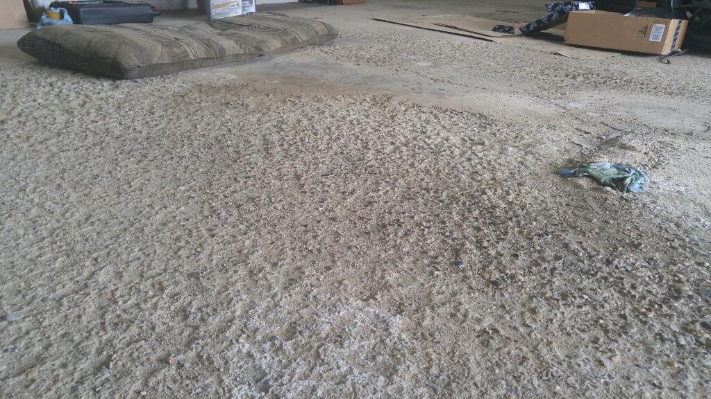 How Repair Pitted Concrete Garage Floor