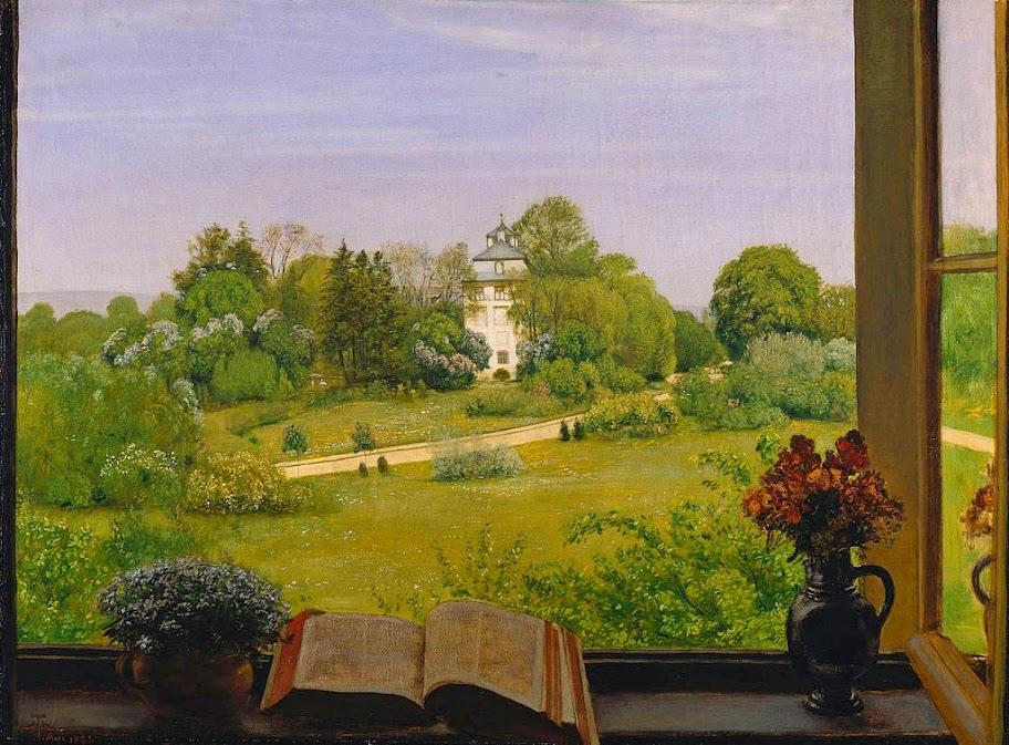 Hans Thoma - 'Die Öd' (Holzhausenpark und -schlößchen)