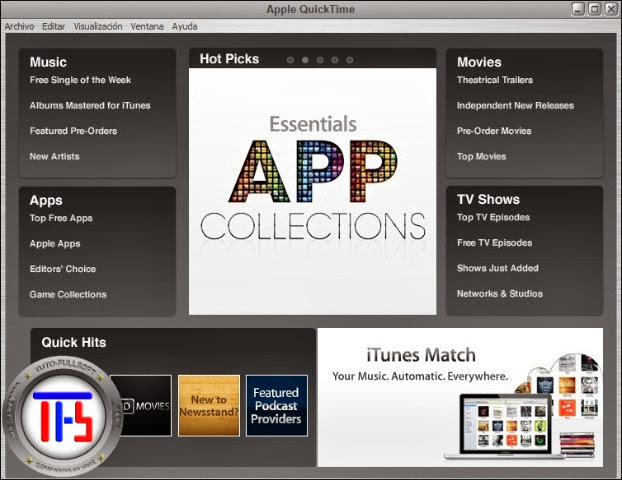 q2 Quick Time Pro v.7.7.6 (80.95) + Keygen [Español] [Reproduce videos mp4 y 3GP] [MG]