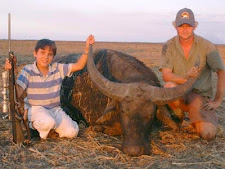 Young Daniel Rumpf took his first big game animal (a buffalo no less!) at Carmor Plains during August