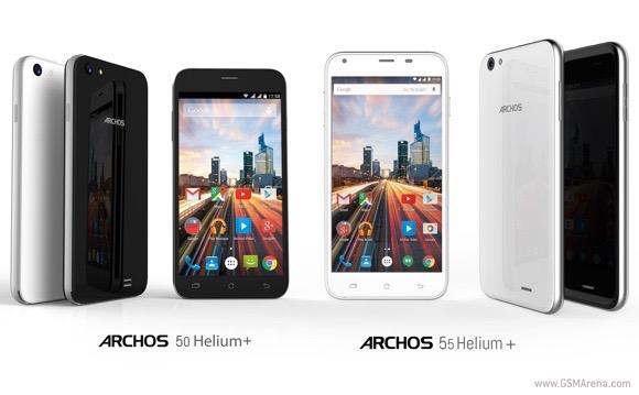 Archos 50 Helium Plus và 55 Helium Plus