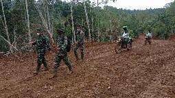 Jalan Baru 6,4 km Capai Progres 97 %   Dorong  Semangat Warga Desa Huta Tonga dan Siuhom  Untuk Maju
