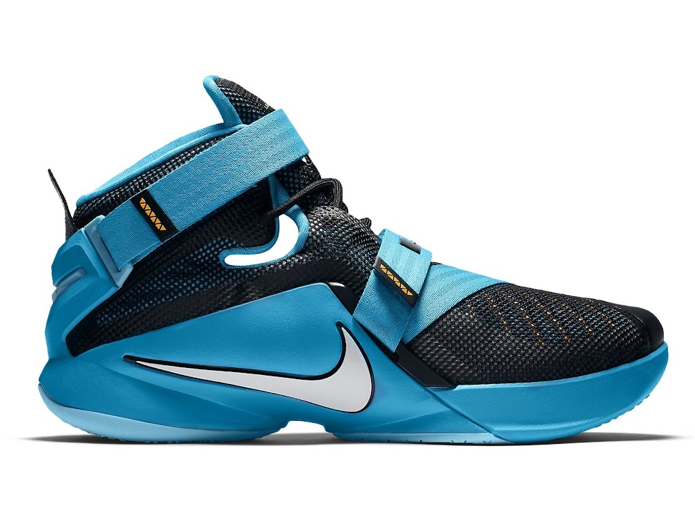 online retailer 2c123 7494f LeBron 13 Shares its Blue Lagoon Style with the Nike Soldier IX ...