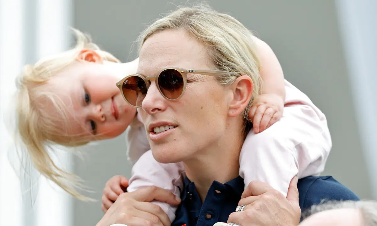 Zara Tindall Reveals why she had Second Thoughts about Daughter Lena's name