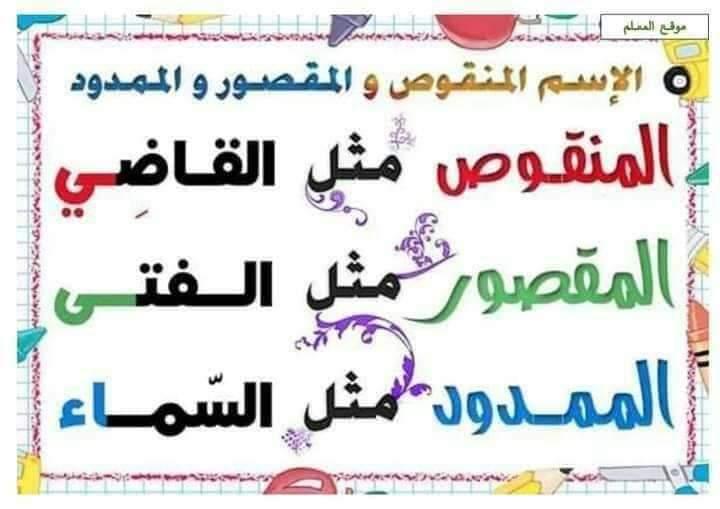 ملخص قواعد اللغة العربية التعليم FB_IMG_1598779209690