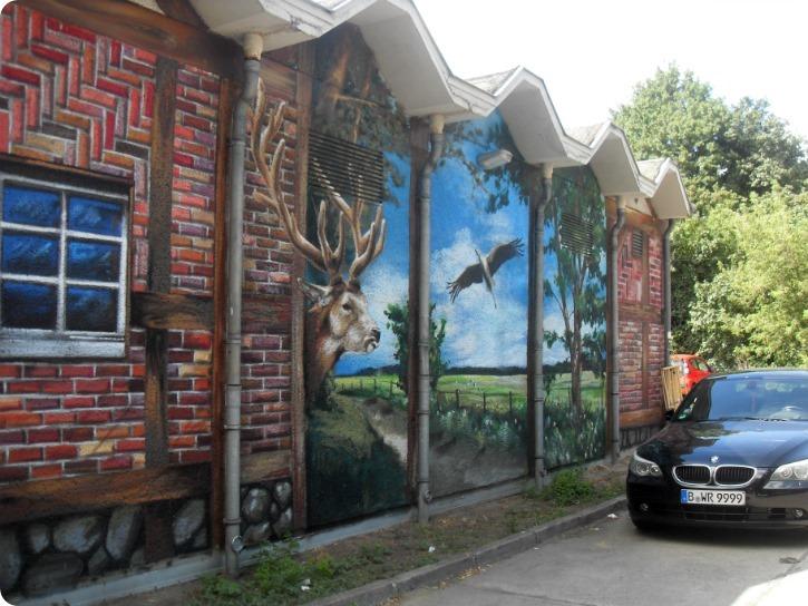 Vægmalerier i Berlin
