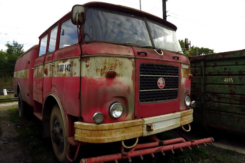 Old Skoda truck