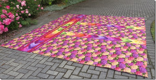 Margaret's huge quilt