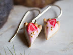 Coconut Tarts with Strawberry Cream