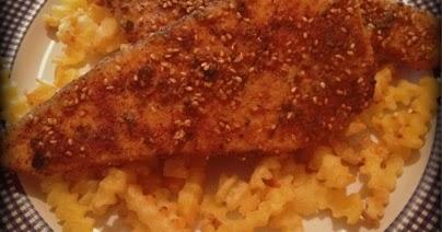 Filetti di pesce spada croccanti ai semi di sesamo