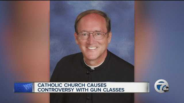 Catholic priest advocates guns for law-abiding citizens
