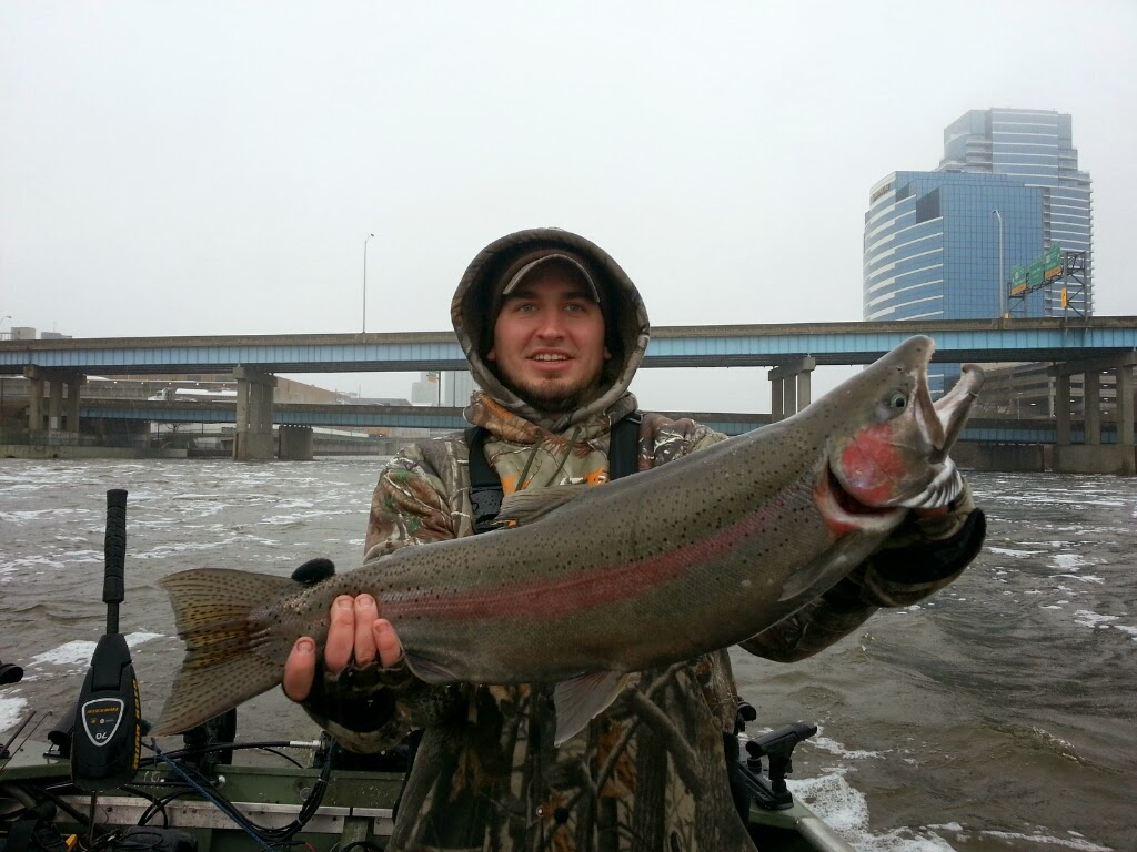 Grand River Guided Steelhead Fishing