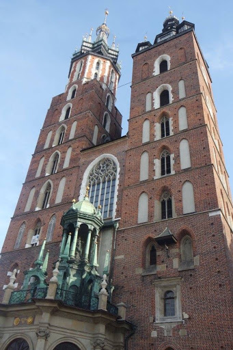 St Mary's Basilica in Krakow Poland