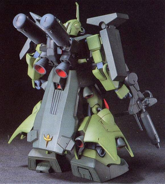 Các chi tiết tinh xảo sắc nét tạo nên mô hình AMX-011S Zaku-III Custom HGUC tỷ lệ 1/144 hoàn hảo