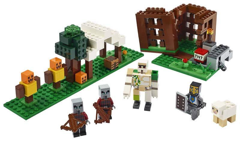 Contenido de Lego® 21159 El Puesto de Saqueadores