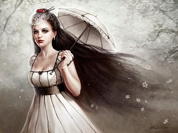 Mysterious Princess Beauty, Gothic